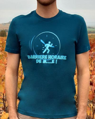 T-shirt-Barriere-horaire-homme-RUN-SHIRT