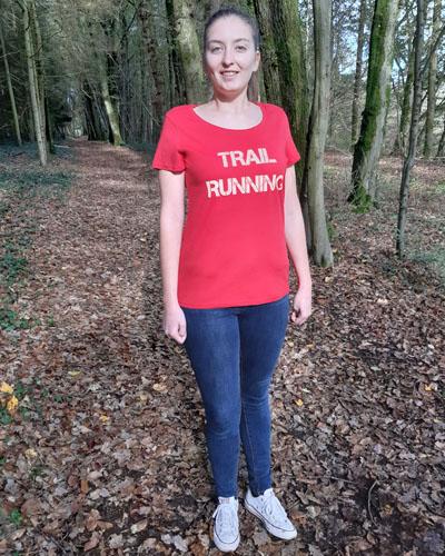 T-shirt-femme-Trail-running