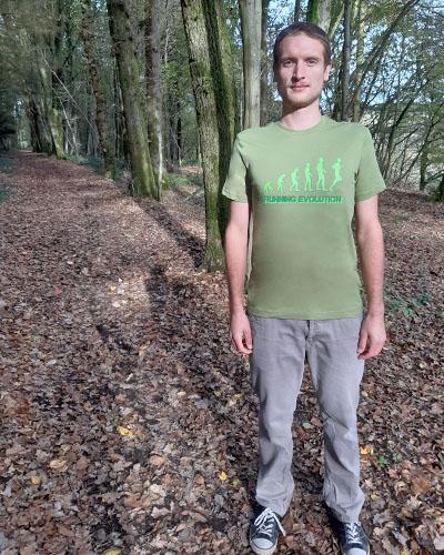 T-shirt-homme-Running-évolution