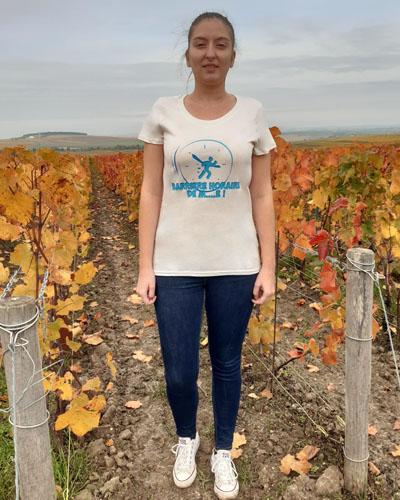 T-shirt-Barriere-horaire-femme-coton-bio