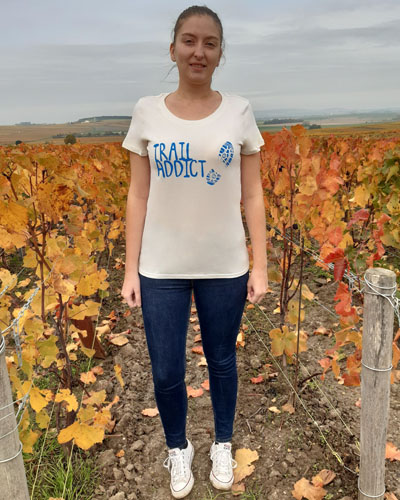 T-shirt-Trail-addict-femme