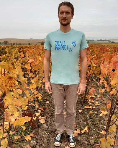 T-shirt-Trail-addict-homme