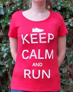 T-shirt-femme-Keep-calm-and-run
