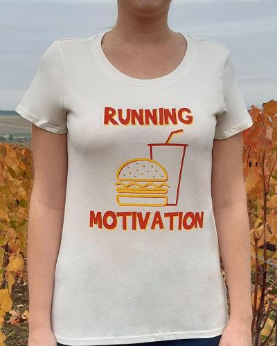 T-shirt-femme-Running-motivation-RUN-SHIRT