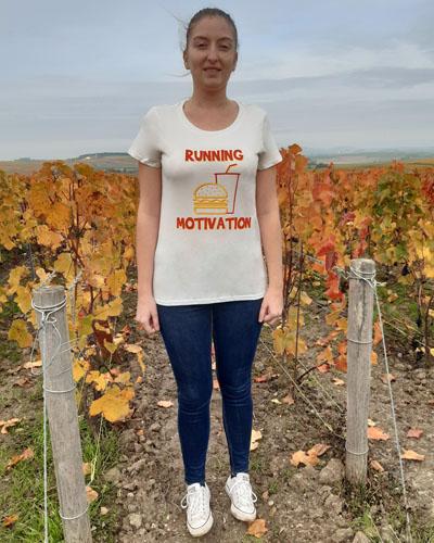 T-shirt-femme-Running-motivation