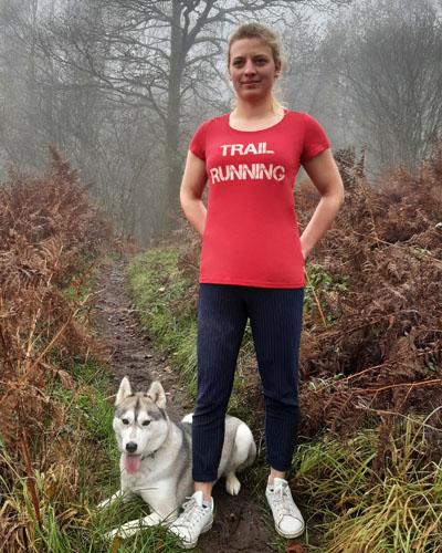 T-shirt-femme-Trail-running-coton-bio-RUN-SHIRT