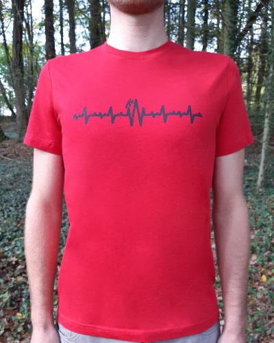 T-shirt-homme-électrocardiogramme-RUN-SHIRT