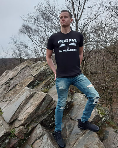 T-shirt-RUN-SHIRT-homme-Jpeux-pas-jai-Marathon