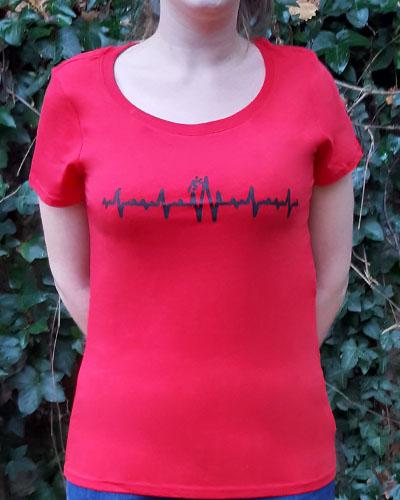 T-shirt-femme-Electrocardiogramme-RUN-SHIRT