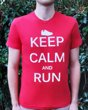 T-shirt-homme-Keep-calm-and-run-RUN-SHIRT-bio