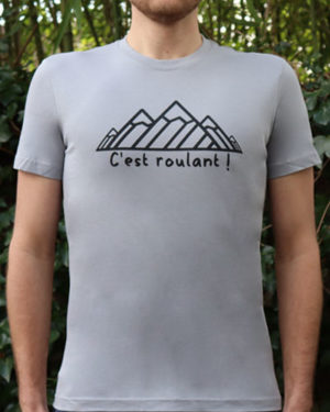 T-shirt-homme-RUN-SHIRT-Cest-roulant
