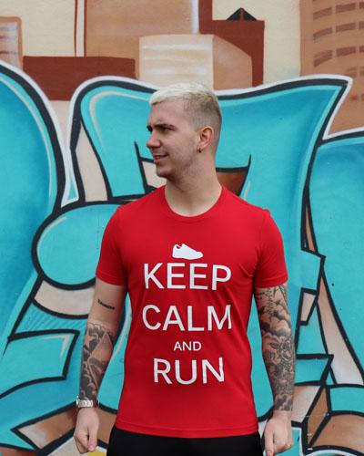 T-shirt-Homme-Keep-calm-and-run-de-la-marque-RUN-SHIRT