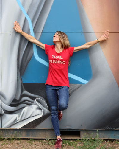 T-shirt-RUN-SHIRT-coupe-femme-Trail-running-Run-pour-elles