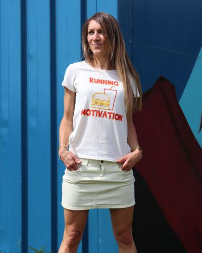 T-shirt-RUN-SHIRT-coupe-femme-Running-motivation